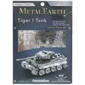 Tiger 1 Tank 3D Metal Earth Model Kit